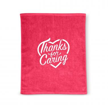 Thanks for Caring Rally Towel