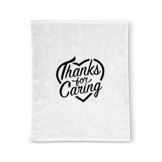 Staff Appreciation - Thanks for Caring Rally Towel