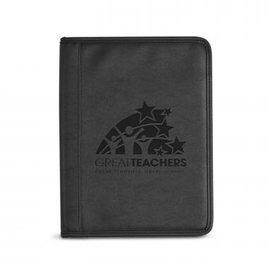 Great Teachers Debossed Writing Padfolio