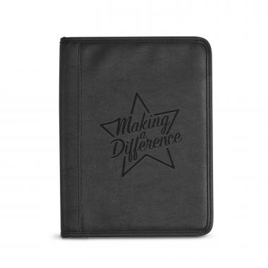 Making a Difference Debossed Writing Padfolio