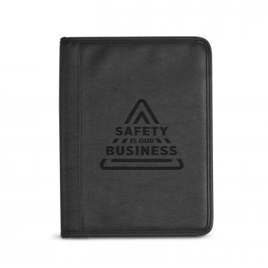 Safety is Our Business Debossed Writing Padfolio