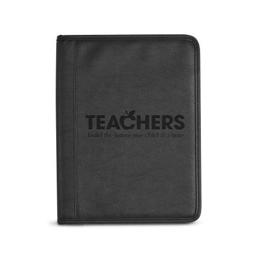 Teachers Build Futures Debossed Writing Padfolio