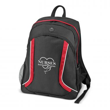 Nurses Touch Hearts Brilliant Backpack