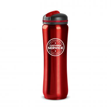 Customer Service 28oz Curvilinear Stainless Bottle