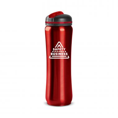 Safety is Our Business 28oz Curvilinear Stainless Bottle