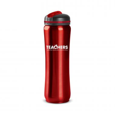 Teachers Build Futures 28oz Curvilinear Stainless Bottle