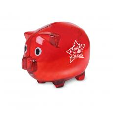 Staff Appreciation - Thanks for All You Do Star Piggie Bank White