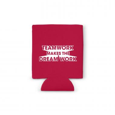 Teamwork Dream Work Value Cozy Sleeve