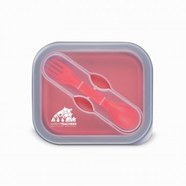 Great Teachers Collapsible Food Container