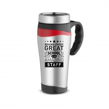 Behind Every Great School 16oz Stainless Mug