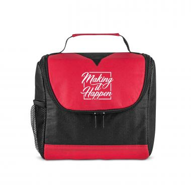 Making it Happen Square U-Zip Lunch Cooler
