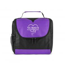 National Nurses Day - Nurses Touch Hearts U-Zip Lunch Cooler