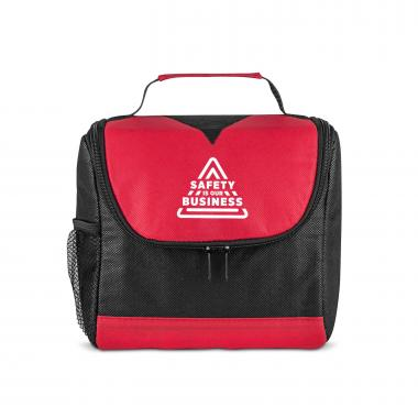 Safety is Our Business U-Zip Lunch Cooler
