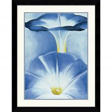 Georgia O'Keeffe Blue Morning Glories Office Art