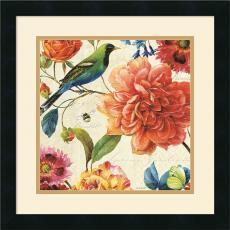 Lisa Audit Rainbow Garden II Cream Office Art