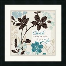 Lisa Audit Botanical Touch Quote I Office Art