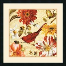 Lisa Audit Rainbow Garden Spice III Office Art