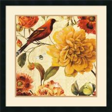 Lisa Audit Rainbow Garden Spice II Office Art