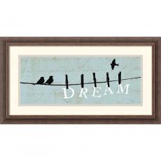 Alain Pelletier Birds on a Wire Dream Office Art