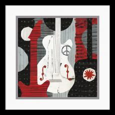 Michael Mullan Rock 'n Roll Guitars Office Art
