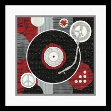 Michael Mullan Rock 'n Roll Album Office Art