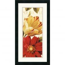 Lisa Audit Poesie Florale Panel II Office Art