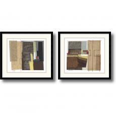 Craig Alan Syncopated Rhythm - set of 2 Office Art