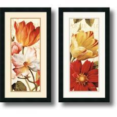 Lisa Audit Poesie Florale Paneal - set of 2 Office Art
