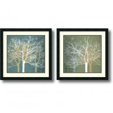 All Motivational Posters - Erin Clark Tranquil Forest - set of 2 Office Art
