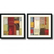 Elya DeChino Rosetta - set of 2 Office Art