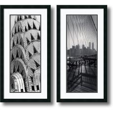 Torsten Andreas Hoffman New York Panels - set of 2 Office Art