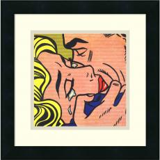 All Motivational Posters - Roy Lichtenstein Kiss V, 1964 Office Art