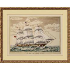 The Clipper Ship, Anglesey, 1150 Tons Office Art