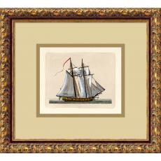 Full Sail (2 Masts) Office Art