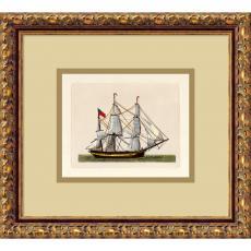 Full Sail (Union Jack) Office Art