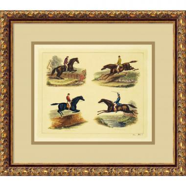 Equestrian Leaps Office Art