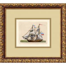 Full Sail (Netherlands 2 Mast) Office Art