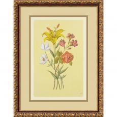 Botanical Bouquet IV Office Art