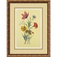 Botanical Bouquet I Office Art