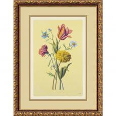Botanical Bouquet II Office Art