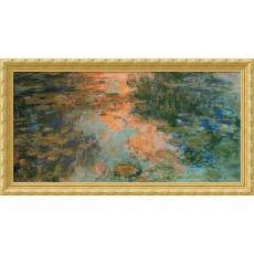 Claude Monet - Claude Monet The Water-Lily Pond, 1917-19 Office Art