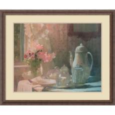 Laura Coombs Hills Breakfast Office Art