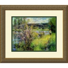 All Motivational Posters - Pierre Auguste Renoir The Seine at Chatou Office Art