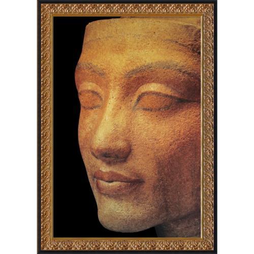 Pharaohs of the Sun: Head of Nefertiti Office Art