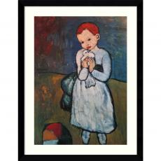 Closeout and Sale Center - Pablo Picasso Child Holding a Dove, Paris, summer 1901 Office Art