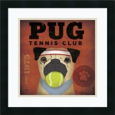 Animals - Stephen Fowler Pug Tennis Club Office Art
