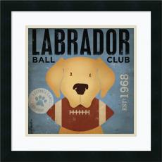 Animals - Stephen Fowler Labrador Ball Club Office Art