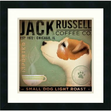 Stephen Fowler Jack Russell Coffee Co. Office Art