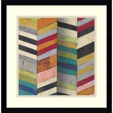 Geometric - Susan Hayes Racks & Stacks II Office Art