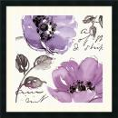 Pela Studio Floral Waltz Plum II Office Art